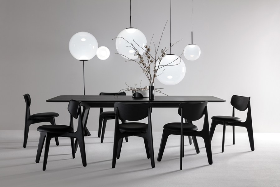 Tom Dixon. Monochrome interiors. My favourite minimalist furniture launches at Milan Design Week 2019 – part 2