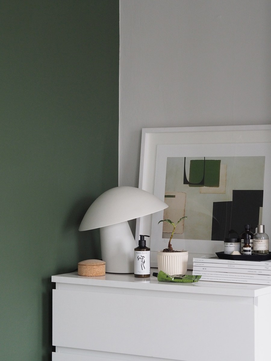 A Simple Forest Green Bedroom Makeover The Before