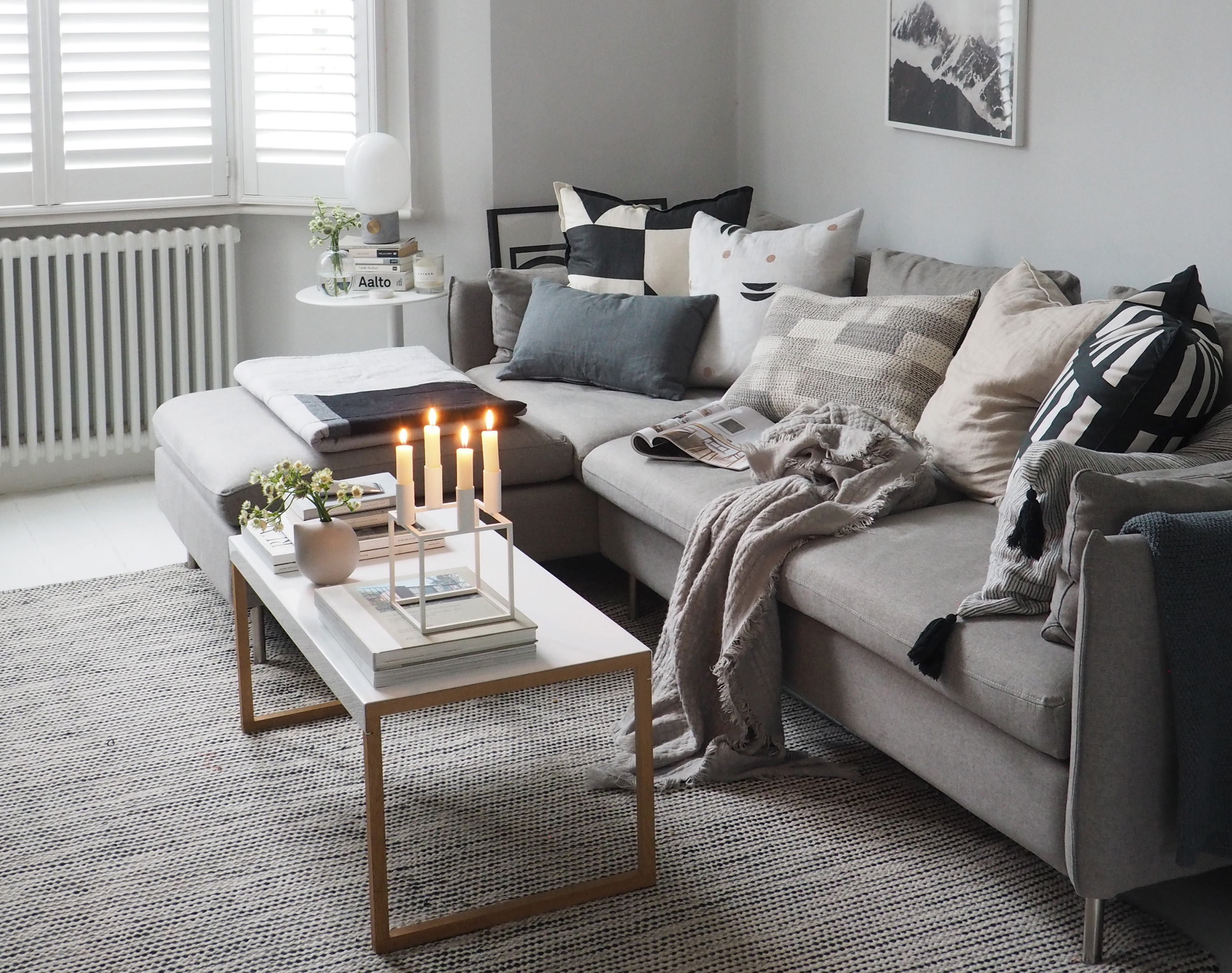 8 steps to making your living room feel cosy - catesthill.com