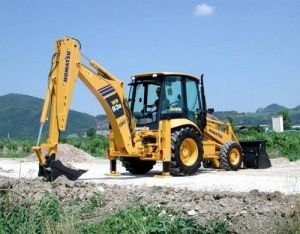 Komatsu WB93R-5 Backhoe-Loader Service Repair Workshop Manual
