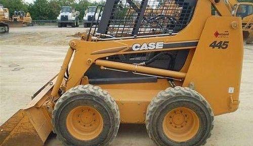 CASE 435 445 445CT SKID STEER SERVICE REPAIR MANUAL
