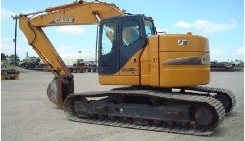 CASE CX225SR Excavator Service Repair Manual