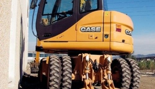 Case Wx95 Wx125 Series 2 Tier 3 Wheeled Excavator Service Repair Manual