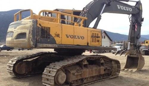 Volvo Ec290b Fx Excavator Service Repair Manual