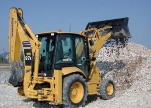 Komatsu Backhoe Loader Wb97r Service Workshop Repair Pdf Manual