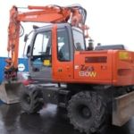 HITACHI ZAXIS ZX 130W WHEELED EXCAVATOR SERVICE PDF MANUAL SET