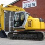 New Holland E115sr E135sr Crawler Excavator Workshop Service Manual