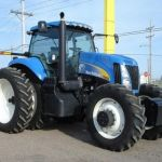 New Holland T8000 Series T8010 T8020 T8030 T8040 Tractor operator jobs Manual