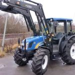 New Holland Tn70 Tractor Service Parts Catalog List Manual Book