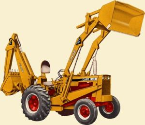 case 530 backhoe service manual