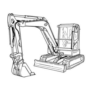 Doosan E80 Compact Excavator Service Parts Catalogue Manual