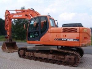 Daewoo Doosan Dx225nlc Crawler Excavator Service Parts Catalogue Manual