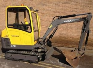 Volvo Ec20b Xtv Ec20bxtv Excavator Service Parts Catalogue Manual