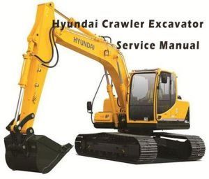 Hyundai R290LC-7A Crawler Excavator Service Repair work Manual