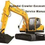 Hyundai R290lc-7 Crawler Excavator Service Repair work Manual