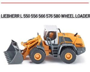 L 550 556 566 576 580 Wheel Loader Workshop Repair Manual