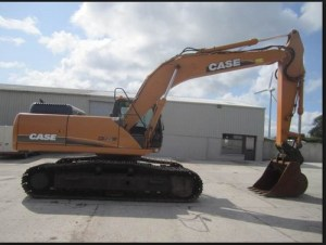 Case Cx290b Crawler Excavator Service Parts Manual