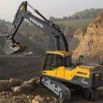 Volvo EC235D NL EC235DNL Excavator Service Parts Manual