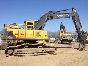 Volvo Ec240b Fx Ec240bfx Excavator Service Parts Catalogue Manual