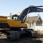 Volvo Ec250d L, Ec250d Lr, Ec250d Nl Excavator Service Parts Manual