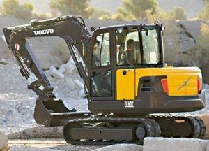 Volvo Ec60c Compact Excavator Service Parts Catalogue Manual