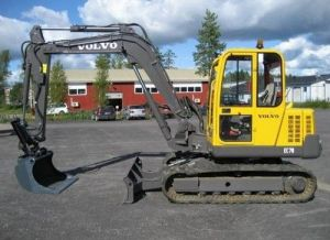 Volvo Ec70 Excavator Service Parts Catalogue Manual
