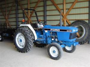 Ford New Holland 3415 4 Cylinder Compact Tractor Parts List Manual