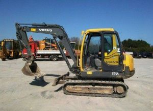 Volvo Ec55-2 Compact Excavator Service Parts Catalogue Manual