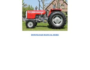 Massey Ferguson 362 365 375 383 390 390t 398 Service Repair Manual