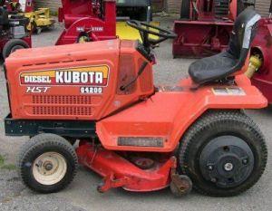 Kubota G3200 G4200 G4200h G5200h G6200h Lawn Garden Tractor Service