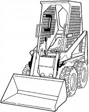 Bobcat 310, 313 Loader Factory Service Shop Pdf Manual