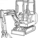 Bobcat 320, 320L, 322, X320, X322 Excavators Factory Service Pdf Manual