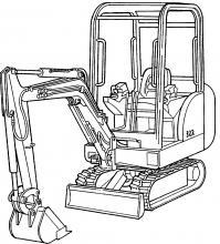 Bobcat 320, 320L, 322, X320, X322 Excavators Factory Service Pdf Manual