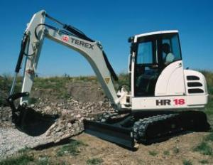 Terex Hr 18 Mini Excavator Workshop Service Pdf Manual