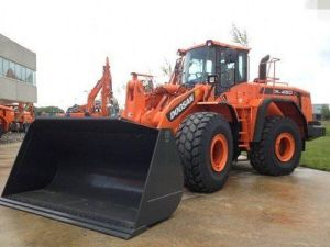 Daewoo Doosan Dl450 Wheeled Loader Service Parts Catalogue Manual