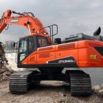 Daewoo Doosan Dx340lc Large Crawler Excavator Service Parts Manual