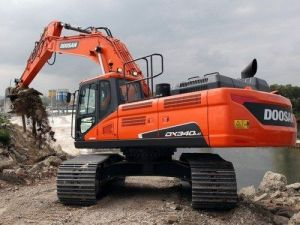 Daewoo Doosan Dx340lc Large Crawler Excavator Service Parts Manual