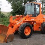 Daewoo Doosan Mega 160 tc Wheeled Loader Service Parts Manual