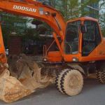Daewoo Doosan Solar 130w-v Wheel Excavator Service Parts Manual