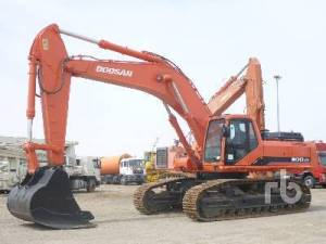 Daewoo Doosan Solar 500lc-v Crawler Excavator Service Parts Catalogue Manual