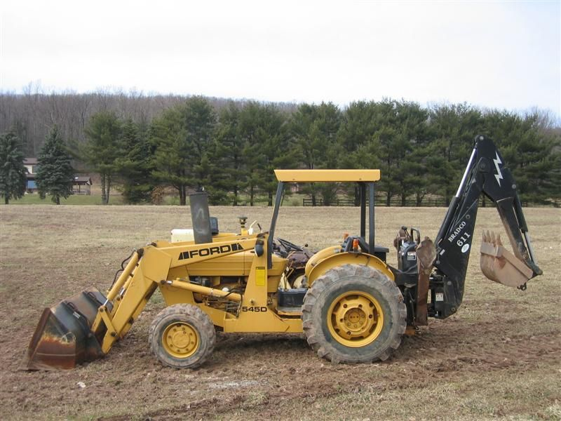 Ford New Holland 545 Industrial Tractors Workshop Service Manual