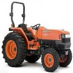 Kubota L4400H L4400 H Tractor Illustrated Master Parts List Manual