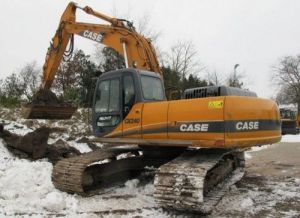 CASE CX240 Crawler Excavator Service Parts Catalogue Manual