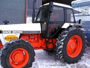 Case David Brown 1690 Tractor Factory Service Manual, Operators and Parts Manual
