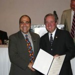 Congressman Mike Doyle Presenting Congressional Award