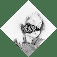 Butterfly + Cat