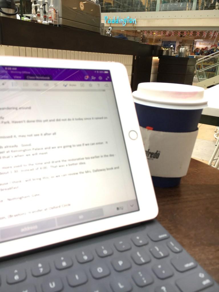 Journaling in London