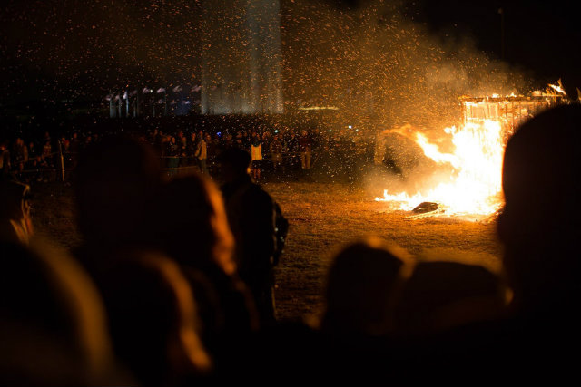 A Ceremonial Temple Burning Will Once Again Take Place On The Mall