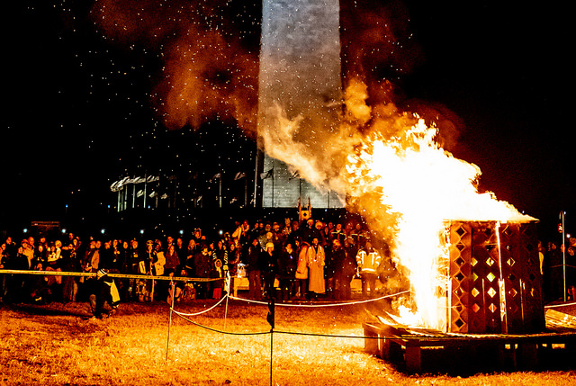 "Catharsis on the Mall 2016 ""Our Journey Home"" Memorial to Trauma Victims to be Burned on the National Mall"