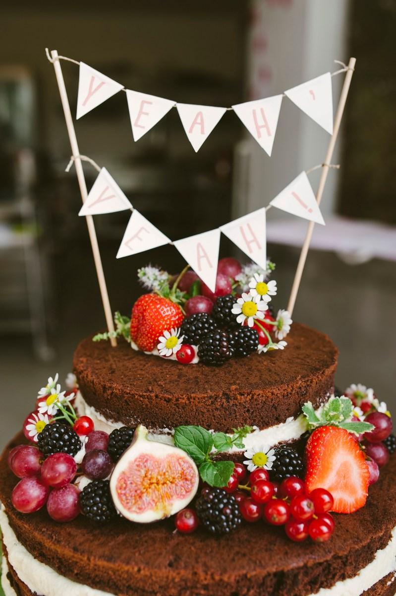 Wedding Cake Ein Bisschen Boho Chic Ein Bisschen